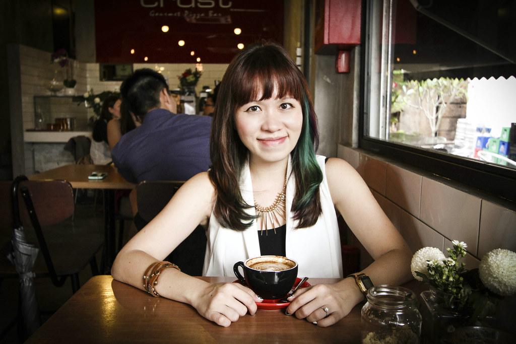 Maureen at One Man Coffee