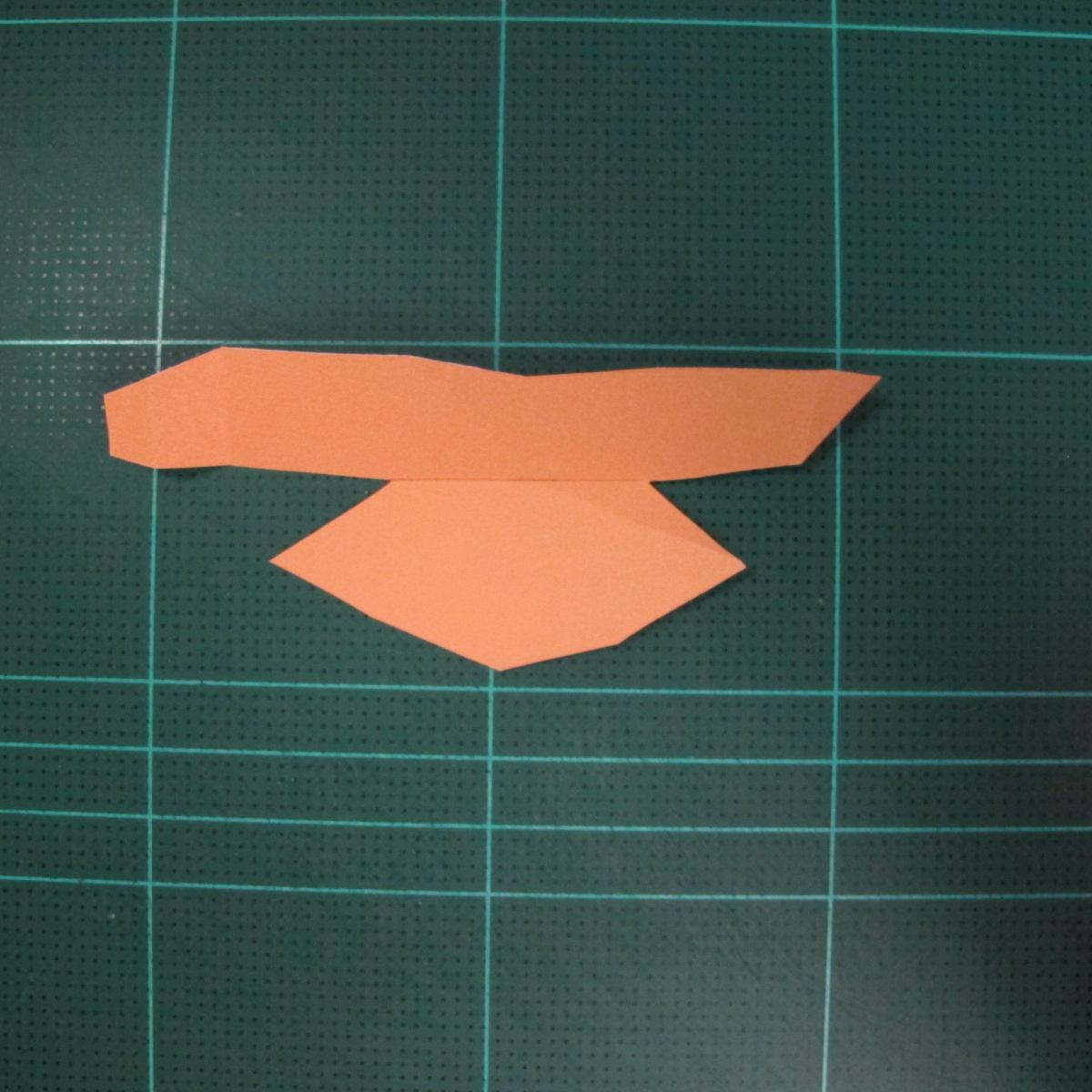 วิธีทำโมเดลกระดาษตุ้กตา คุกกี้สาวผู้ร่าเริง จากเกมส์คุกกี้รัน (LINE Cookie Run – Bright Cookie Papercraft Model) 013