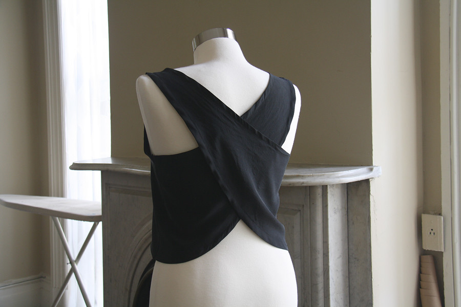 wrap top diy
