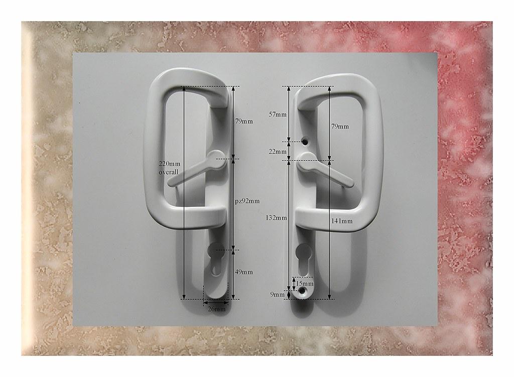 Stylish Quality Trojan White Pz92 Upvc Sliding Patio Door