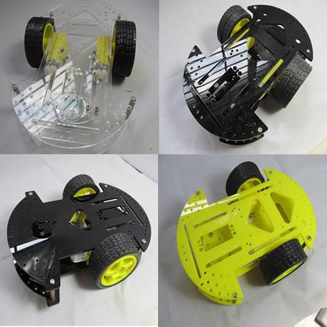 2WD Arduino平台程控智能小車底盤