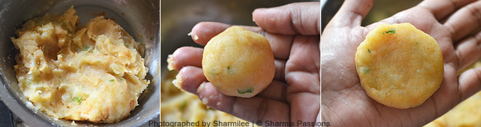 How to make aloo tikki - Step2
