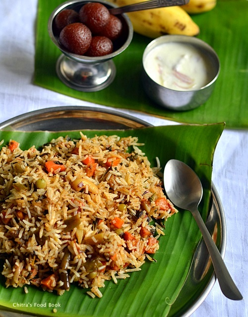 Kerala veg biryani recipe malabar biryani sunday lunch recipes 5 kerala vegetable biryani recipe forumfinder Choice Image