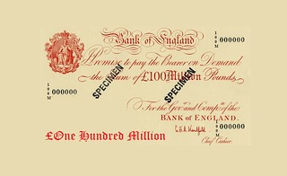 100 Million Pound Note
