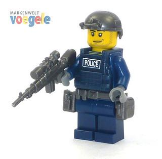 Custom_LEGO_Polizei_Police Figur_1