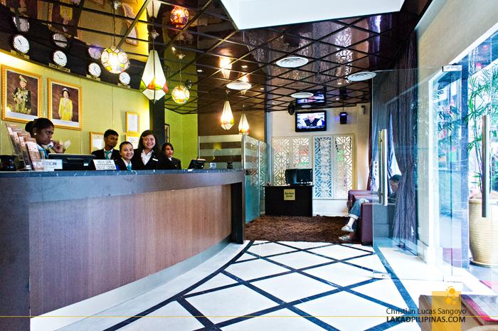 StarPoints Hotel Lobby in Kuala Lumpur