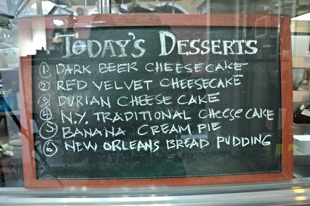 Today's Desserts