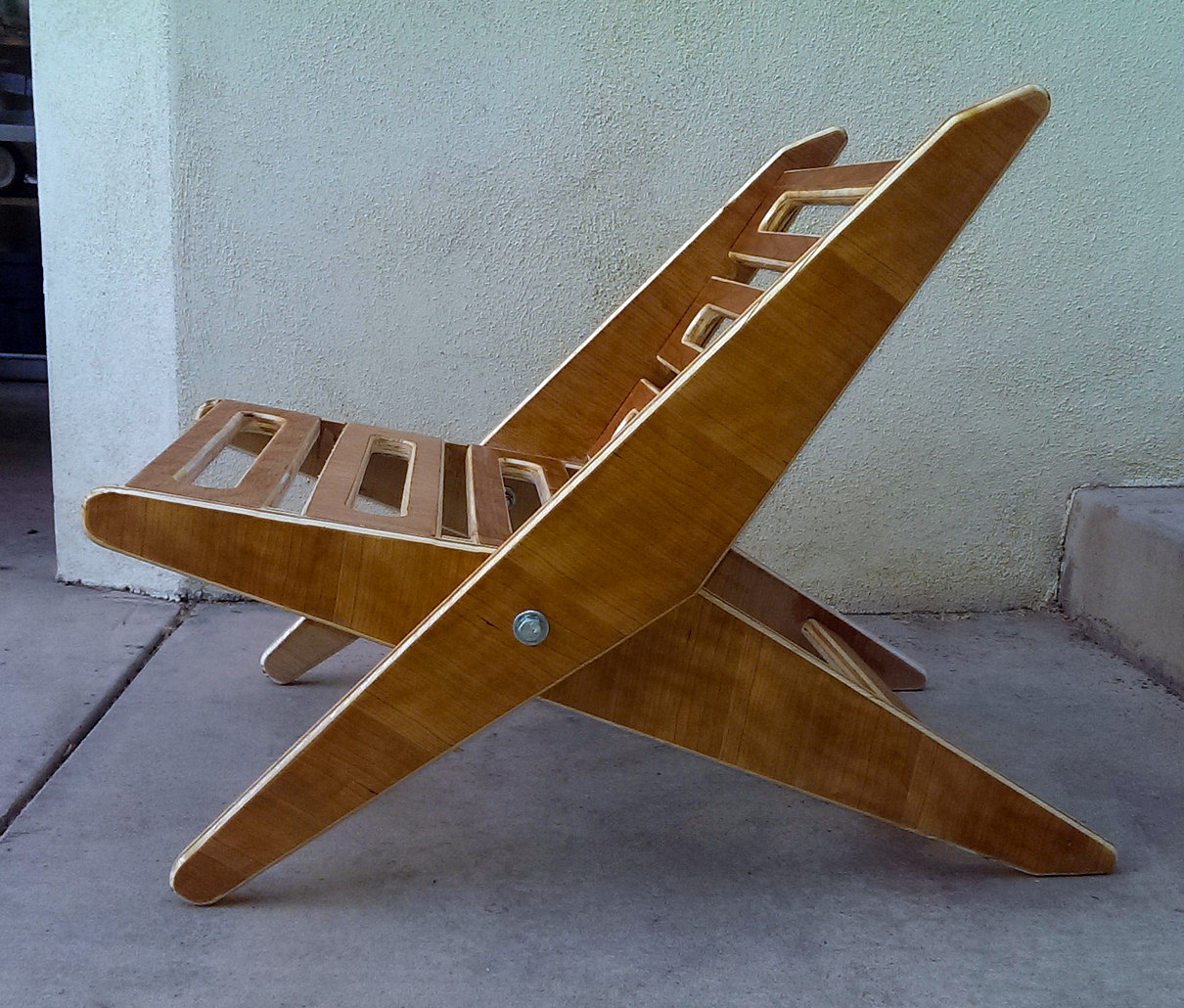 Folding Lounge-y Beach Chair - MechMate CNC Router Forum
