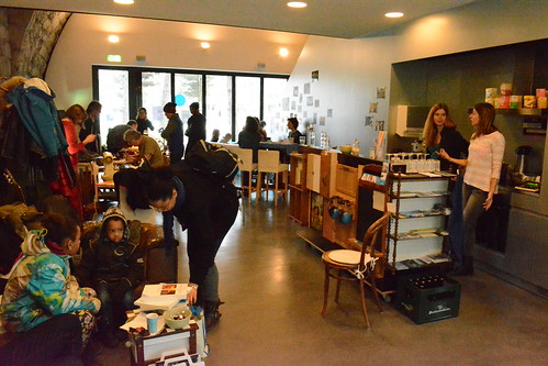 Besuch im Talentcafé