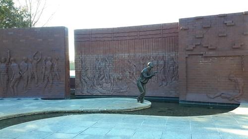 Commemorative Walkway at the National Prisoner of War Museum