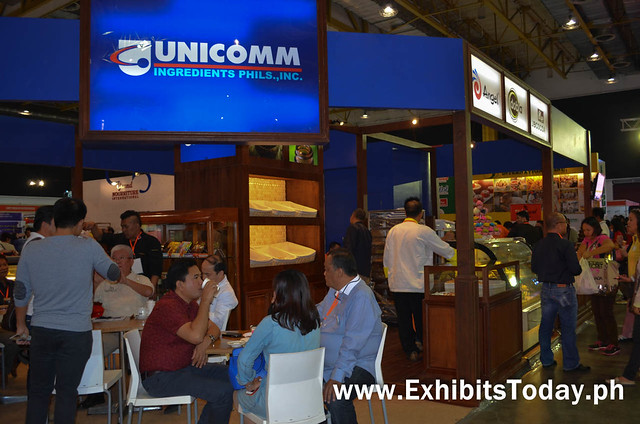 Unicomm Ingredients Phils Exhibit Booth