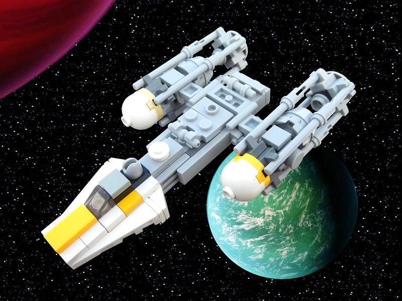 Moc Mini Y Wing Mini Isd Lego Star Wars Eurobricks Forums