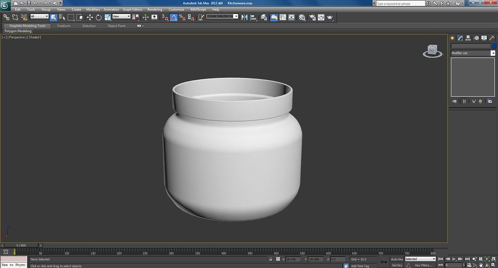 3d Kitchenware Work In Progress Screenshots