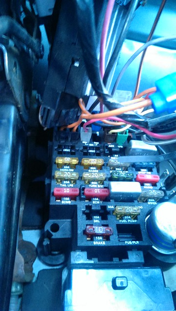 1990 gmc vandura no crank situation vannin community and forums rh vanning com 1994 chevy g20 fuse box diagram 1995 chevy g20 van fuse box