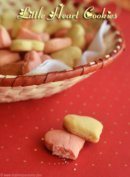 Little Heart Cookies Recipe