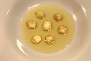 Gnocchis de mozzarella