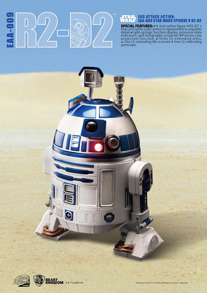 勇敢直前的英勇小伙伴!Egg Attack Action《星際大戰:帝國大反擊》R2-D2