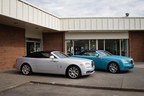 Rolls Royce Dawn test drive