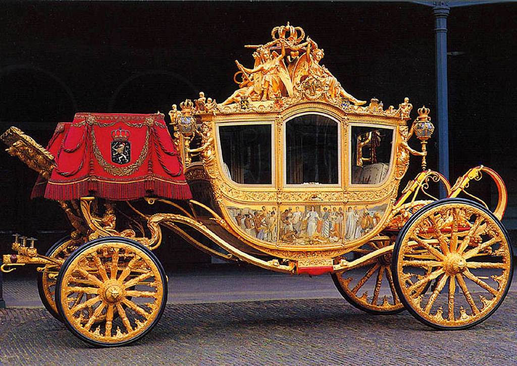 Golden Coach (Netherlands). Credit GALERIEopWEG