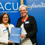 ACUscholarship2016-157 Susan Fajardo and Prof. Karen Flowers