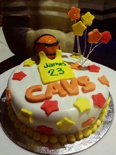 Basketball CAVS Champion 2016 at Sweety Cakes by Zalie