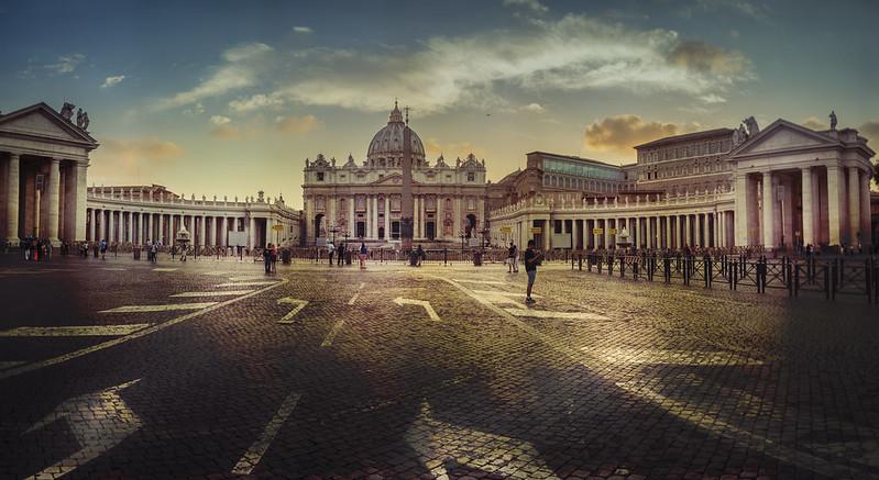 Rome, Vaticaan pano