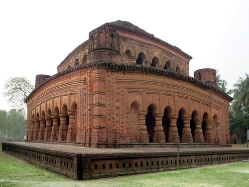 temple bangladesh bogra navaratna hatikumrul