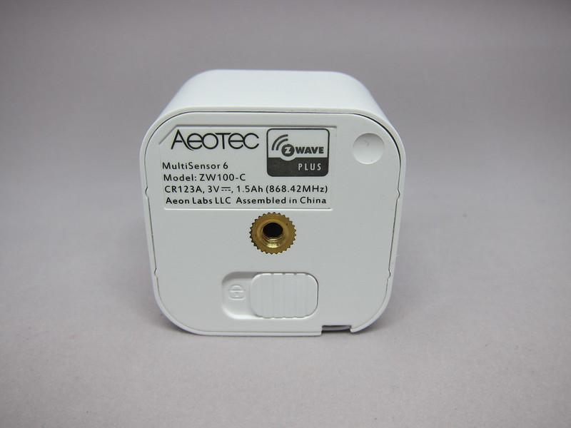 Aeon Labs Aeotec Z-Wave MultiSensor 6 (Gen5) - Back