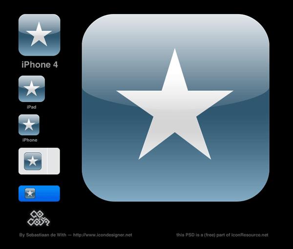 Создание и установка иконок iPhone и iPad