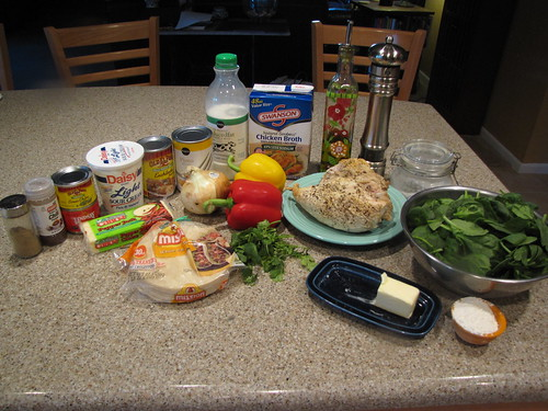 Chicken Enchilada Casserole Ingredients