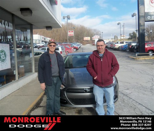Monroeville Dodge would like to wish a Happy Birthday to Catherine Elliott! by Monroeville Dodge