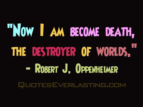 Robert Oppenheimer photo