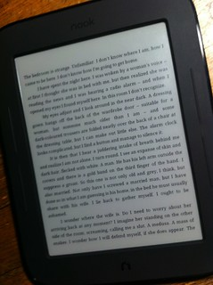 Reading a Kindle book on a Nook