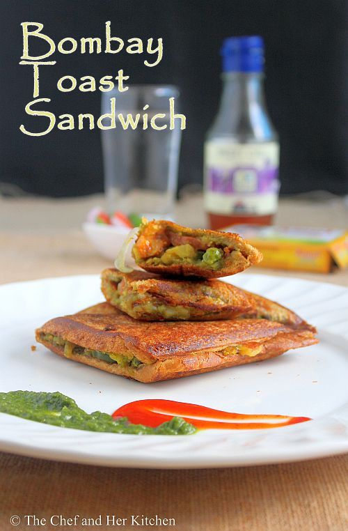 ... KITCHEN: Bombay Masala Toast Sandwich | Potato stuffed Sandwich Recipe