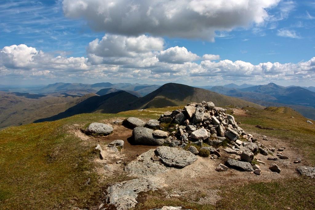 Summit of Beinn a' Chocuill