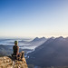 A Pefect Day Defined: Summit of Redwall Peak, Vancouver Island, Looking West by Karsten of the Island