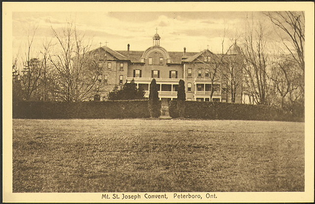 Mt. St. Joseph Convent Postcard circa 1910