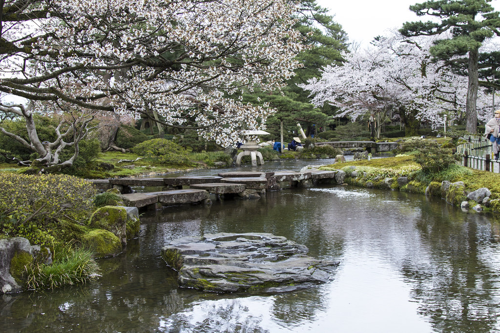 Parco Kenroku-en - Kanazawa