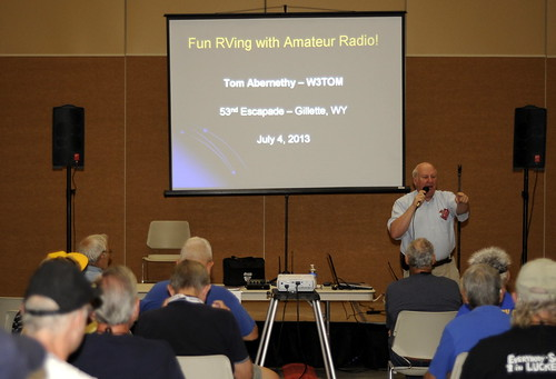 Ham Radio Talk at Escapees Rally by RV Bob