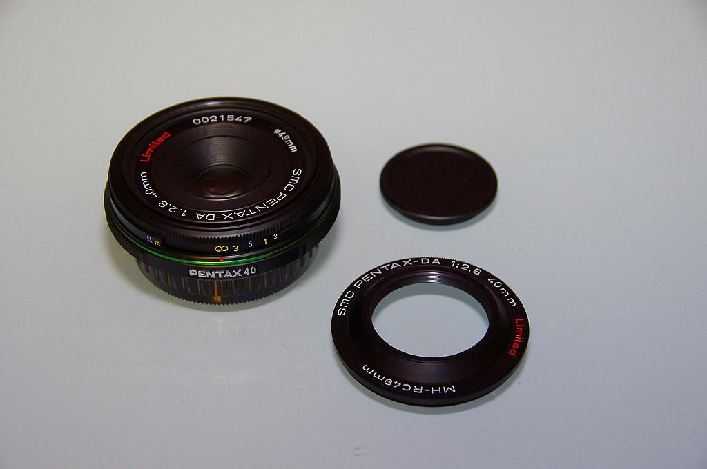 【開箱】舊鏡新開 DA 40 Limited
