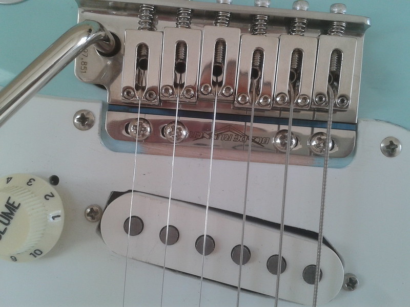 advice for MIM/import spacing strat trem