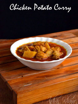 Chicken Potato Curry in Pressure Cooker Recipe