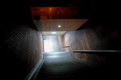 Underground entrance