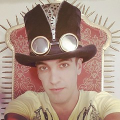 What do you think of my #SteamPunk Top Hat made by @JeffParshley?