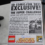 SDCC 2012 Exclusive Green Lantern Minifigure