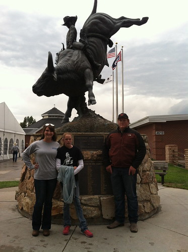 Z Crew: Taylor and friends at Cheyenne Frontier Days