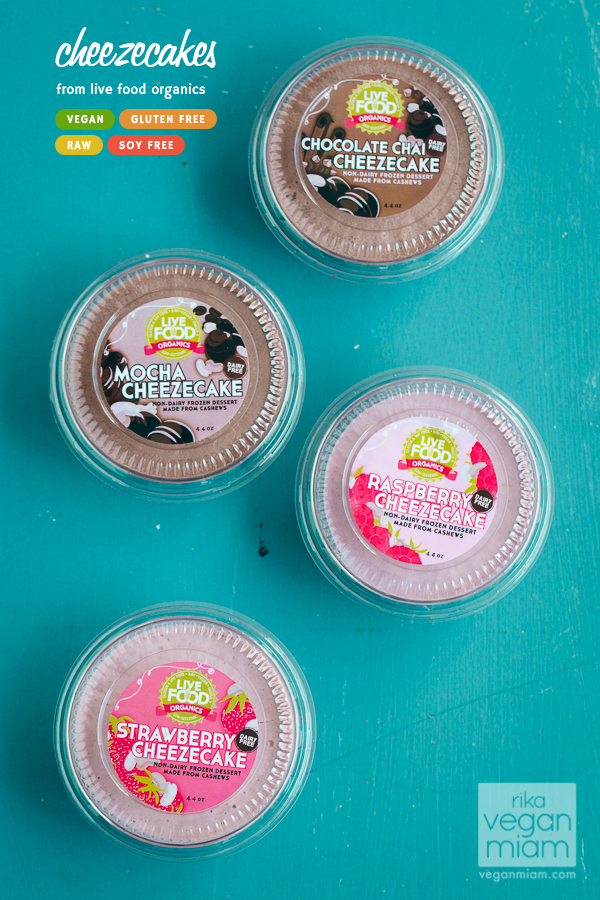 Live Food Organics Cheezecakes (vegan, gluten-free, soy-free, raw)