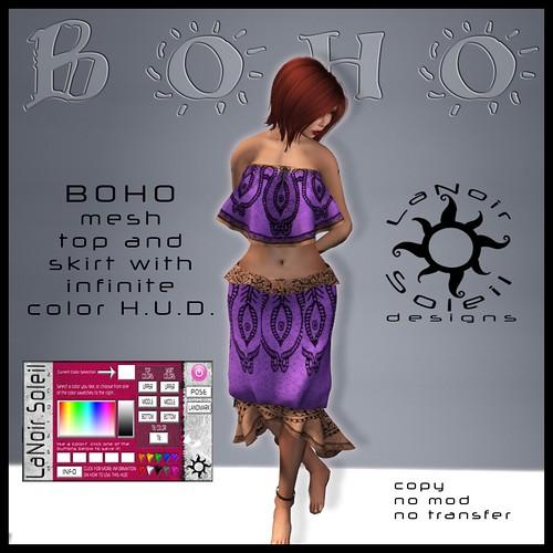 BOHO Outfit Vendor Ad