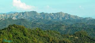 Ninety-nine mountain. (Toukoshan Formation)