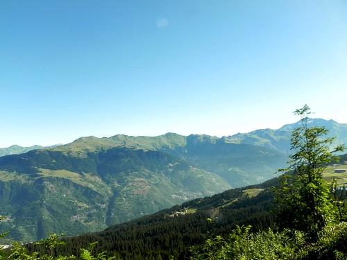 Mont Jovet et villages de Tarentaise